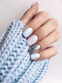 47 Simple Nail Art Design for This Winter Season Inspiration 10