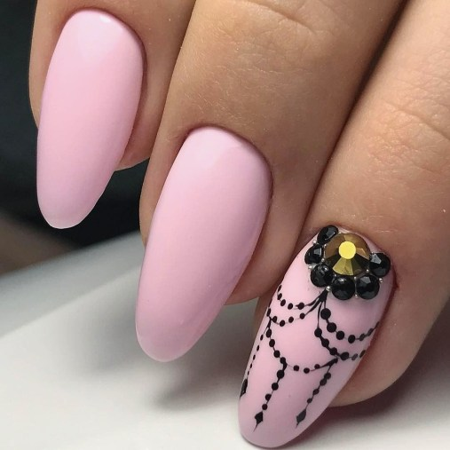 47 Simple Nail Art Design for This Winter Season Inspiration 27