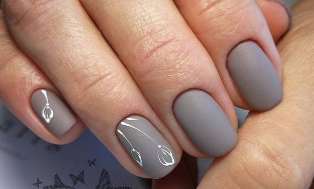 47 Simple Nail Art Design for This Winter Season Inspiration 30