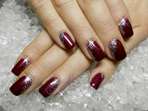 47 Simple Nail Art Design for This Winter Season Inspiration 38