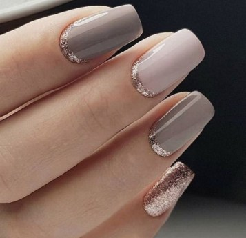47 Simple Nail Art Design for This Winter Season Inspiration 5