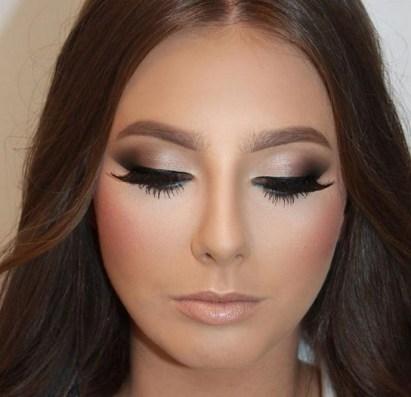 50 Bridal Smokey Eye Makeup Ideas 05