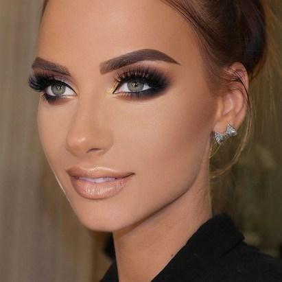 50 Bridal Smokey Eye Makeup Ideas 06