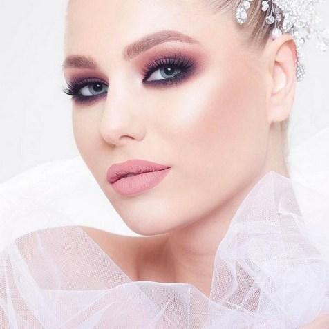 50 Bridal Smokey Eye Makeup Ideas 12
