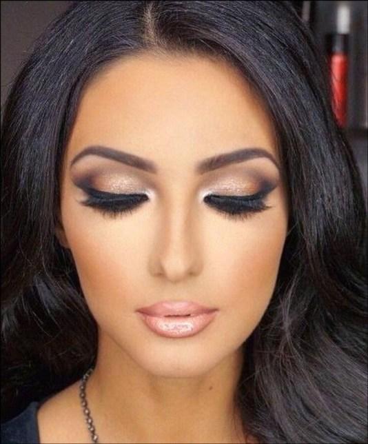 50 Bridal Smokey Eye Makeup Ideas 26