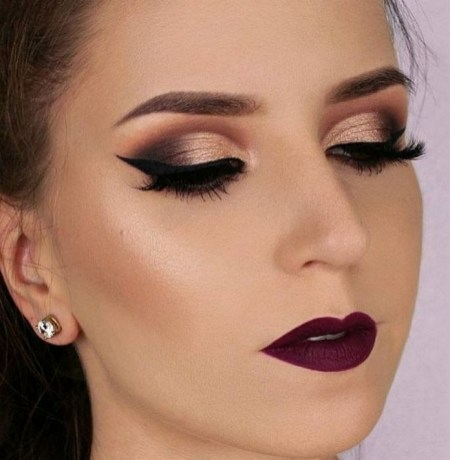 50 Bridal Smokey Eye Makeup Ideas 42