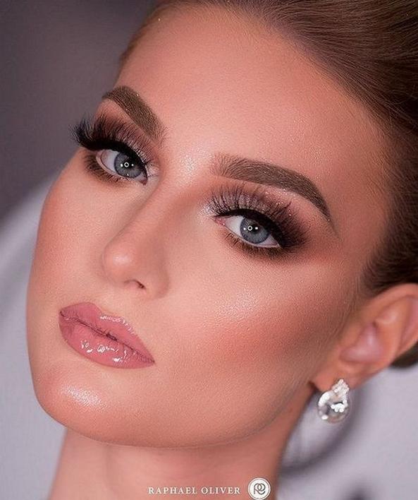 50 Bridal Smokey Eye Makeup Ideas 49