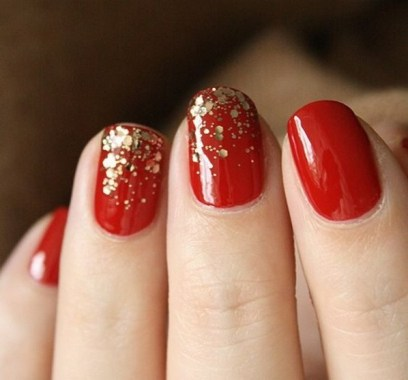 50 Cute and Festive Christmas Nail Design You Should to See 04