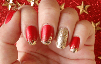 50 Cute and Festive Christmas Nail Design You Should to See 07