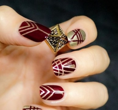50 Cute and Festive Christmas Nail Design You Should to See 35