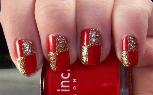 50 Cute and Festive Christmas Nail Design You Should to See 49