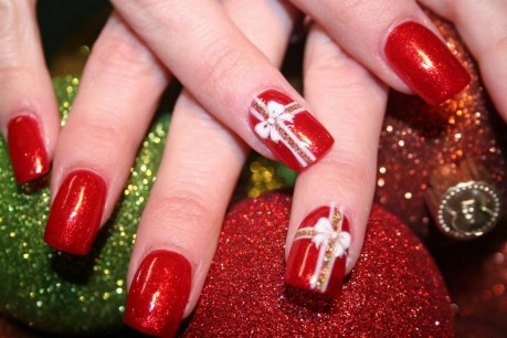 50 Cute and Festive Christmas Nail Design You Should to See 50
