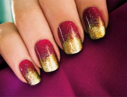 50 Cute and Festive Christmas Nail Design You Should to See 51