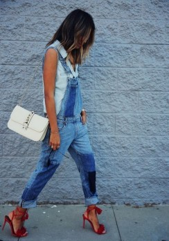 50 Modern Look Jeans and Red Shoes Outfit Ideas 29
