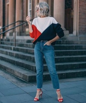 50 Modern Look Jeans and Red Shoes Outfit Ideas 40