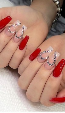 50 Nail Art Ideas for Valentines Day You Need to See 17