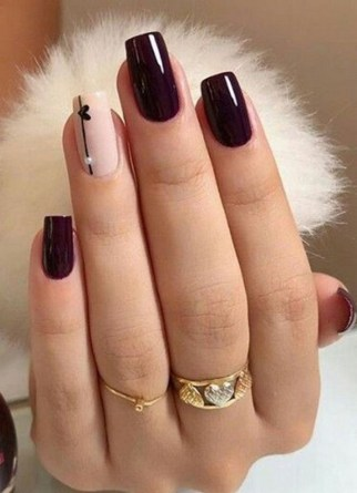 50 Nail Art Ideas for Valentines Day You Need to See 19