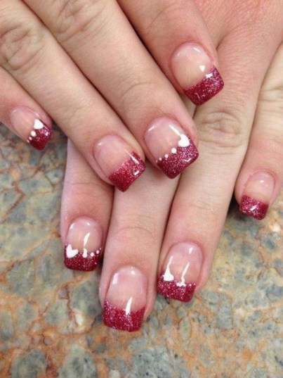 50 Nail Art Ideas for Valentines Day You Need to See 39
