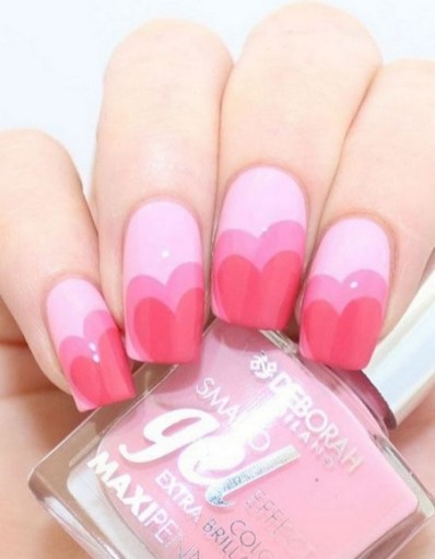 50 Nail Art Ideas for Valentines Day You Need to See 45