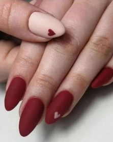 50 Nail Art Ideas for Valentines Day You Need to See 49