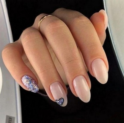 50 Nail Art Ideas for Valentines Day You Need to See 54