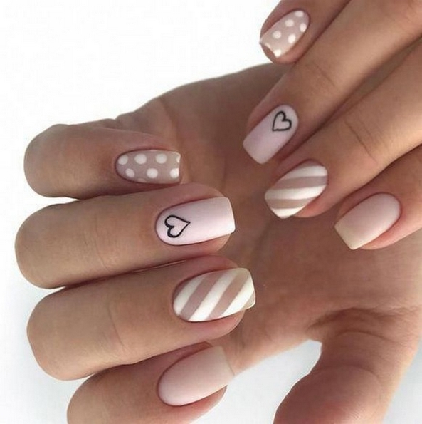 50 Nail Art Ideas for Valentines Day You Need to See 63