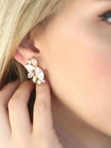 50 Stud Earring for Wedding Brides Ideas 35