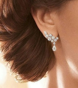 50 Stud Earring for Wedding Brides Ideas 43