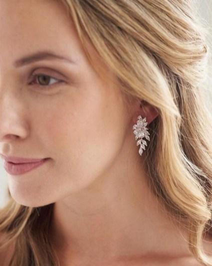 50 Stud Earring for Wedding Brides Ideas 48