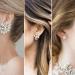 50 Stud Earring for Wedding Brides Ideas