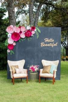 50 Stunning Paper Flower Decoration for Wedding Ideas 29