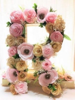 50 Stunning Paper Flower Decoration for Wedding Ideas 31
