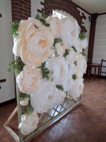 50 Stunning Paper Flower Decoration for Wedding Ideas 35