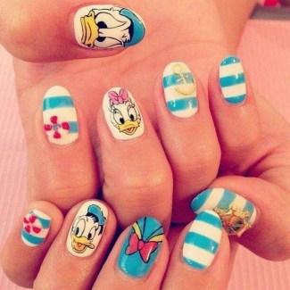 60 Disney Themed Nail Art Ideas 08