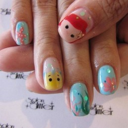 60 Disney Themed Nail Art Ideas 14