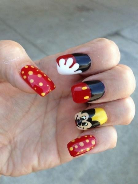 60 Disney Themed Nail Art Ideas 25