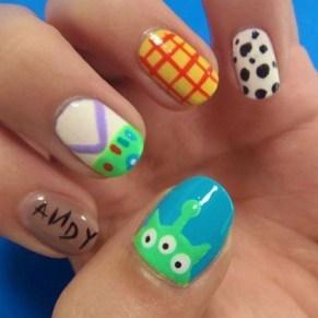 60 Disney Themed Nail Art Ideas 26