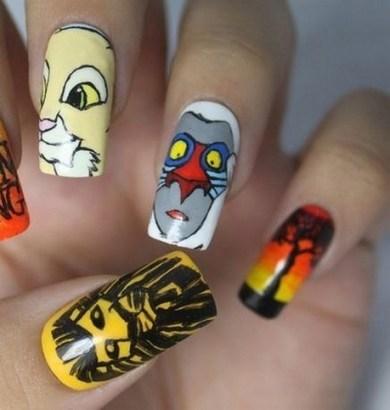 60 Disney Themed Nail Art Ideas 32