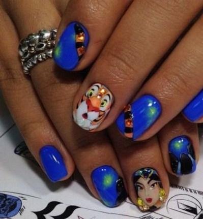 60 Disney Themed Nail Art Ideas 38