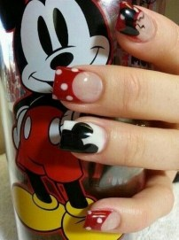 60 Disney Themed Nail Art Ideas 49