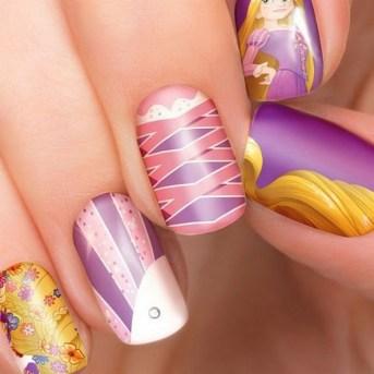 60 Disney Themed Nail Art Ideas 54