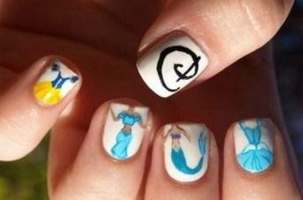 60 Disney Themed Nail Art Ideas 55