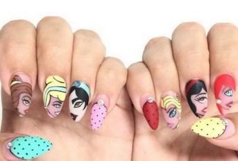 60 Disney Themed Nail Art Ideas 56