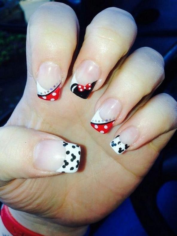 60 Disney Themed Nail Art Ideas 57