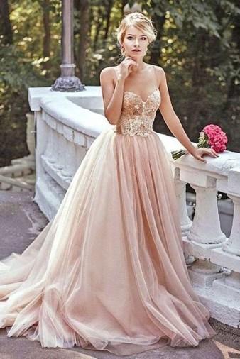 60 Gold Glam Wedding Dresses Inspiration 32