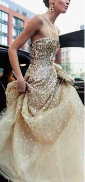 60 Gold Glam Wedding Dresses Inspiration 42