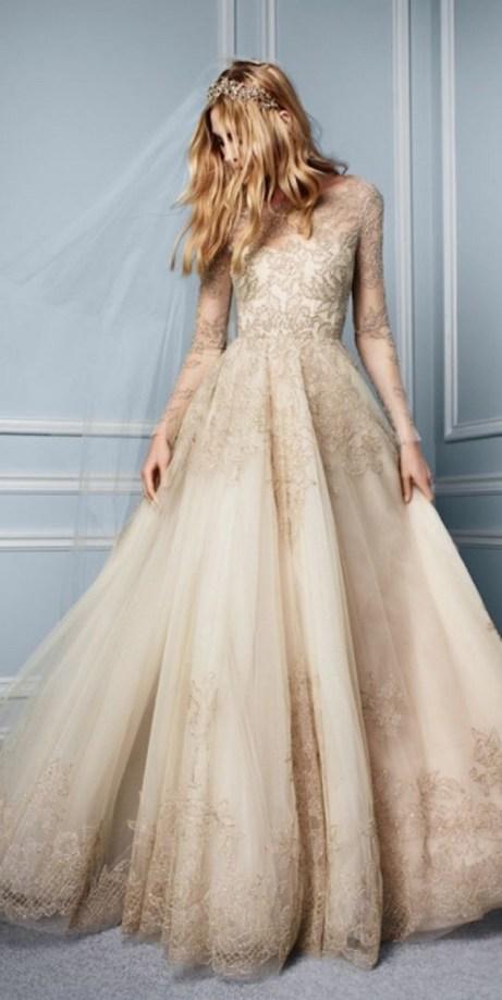 60 Gold Glam Wedding Dresses Inspiration 51