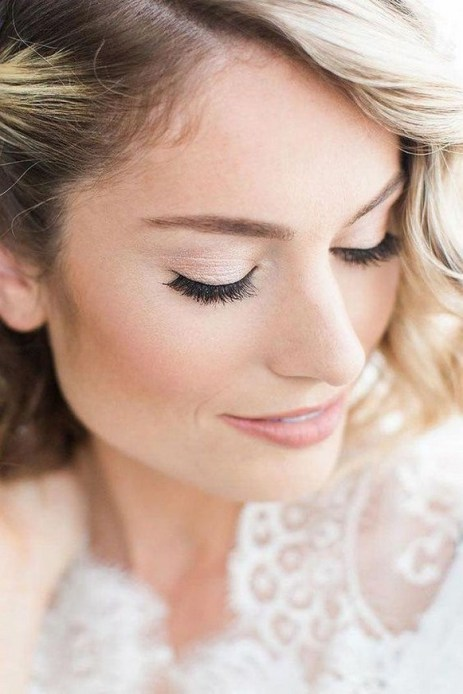 60 Inspiring Natural Bridal Look 59