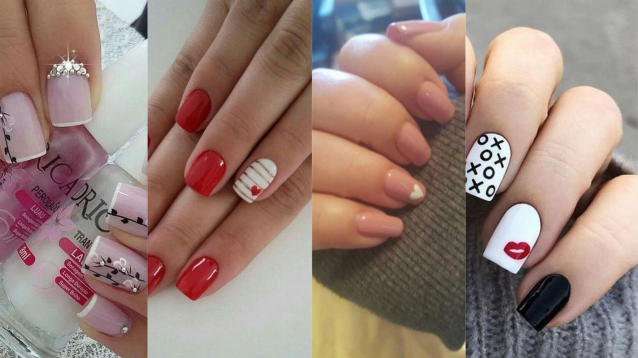 60 Nail Art Ideas for Valentines Day You Need to See
