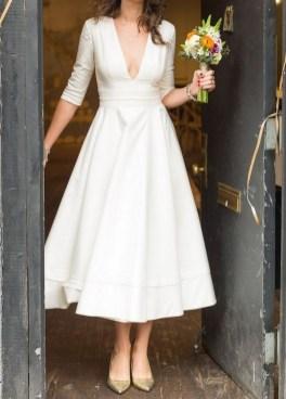 60 Simple Vintage Wedding Dress Ideas 21